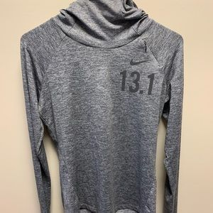 Nike half marathon hooded long sleeve